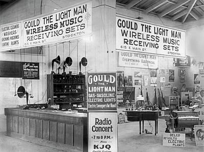 Gould The Light Man Art Print
