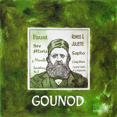 Gounod Art Print by Paul Helm