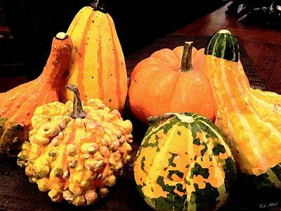 Painting - Gourds by Cole Black