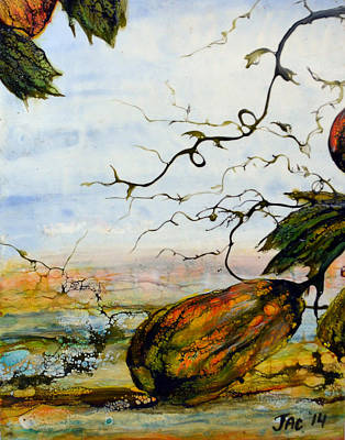 Painting - Gourds by Jennifer  Creech