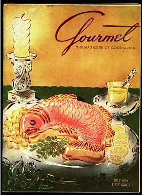 Food And Drink Photograph - Gourmet Cover Illustration Of Salmon Mousse by Henry Stahlhut