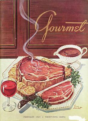 Photograph - Gourmet Cover Of A Roast Beef by Henry Stahlhut