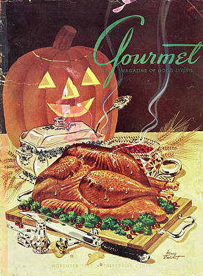 Photograph - Gourmet Cover Of A Thanksgiving Turkey by Henry Stahlhut