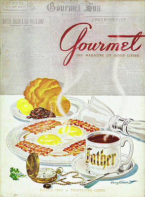 Photograph - Gourmet Cover Of Breakfast by Henry Stahlhut