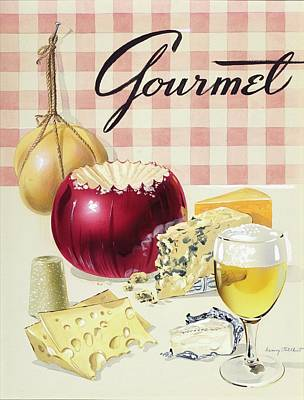 Photograph - Gourmet Cover Of Cheeses by Henry Stahlhut