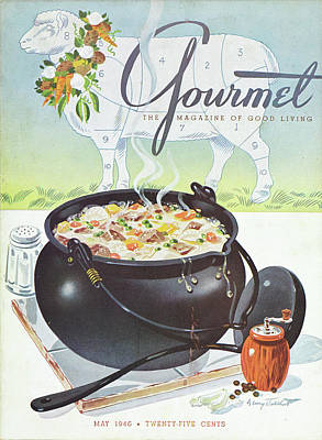 Ladles Photograph - Gourmet Cover Of Lamb Stew by Henry Stahlhut