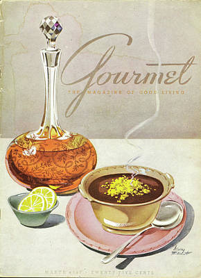 Photograph - Gourmet Cover Of Soup by Henry Stahlhut