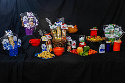Photograph - Gourmet Products by Robert Hebert