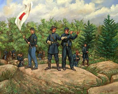 Roebling Painting - Gouverneur K. Warren by Mark Maritato