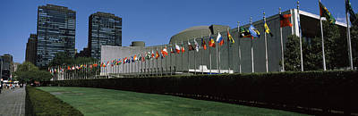 United Nations Photograph - Government Building In A City, United by Panoramic Images