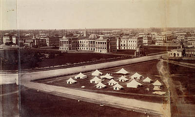 Colonial Architecture Photograph - Government House And Gardens by British Library