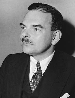 Photograph - Governor Thomas F. Dewey by Underwood Archives