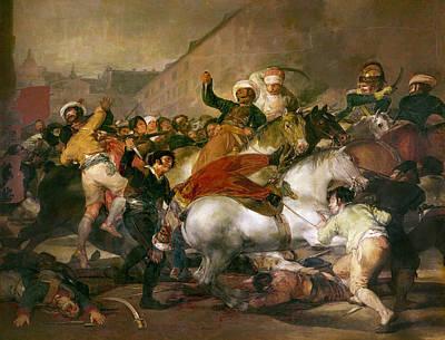 Goya Second Of May 1808 Art Print