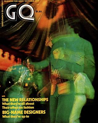 Photograph - Gq Cover Featuring A Photograph Taken At A Disco by Mark Patiky