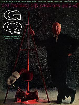 Photograph - Gq Cover Featuring Alfred Hitchcock by Carl Fischer
