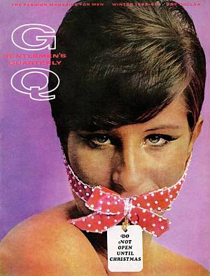 Photograph - Gq Cover Of Barbra Streisand Gagged by Carl Fischer