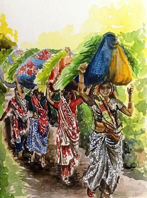 Painting - Grace And Charm by Aditi Bhatt