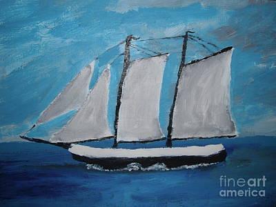 Grace Bailey Sailboat Original