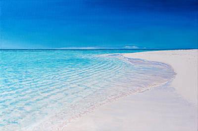 Painting - Grace Bay Splendor by Liz Zahara