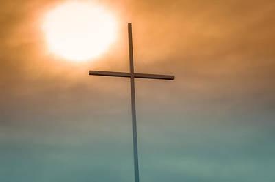 Granger Royalty Free Images - Grace Chapel Cross Royalty-Free Image by Chris Kominski