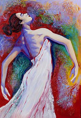 Ballet Dancers Mixed Media - Grace by Claudia Fuenzalida Johns