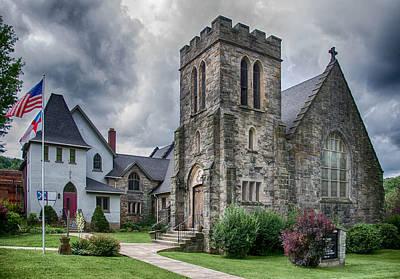 Photograph - Grace Episcopal by Guy Whiteley