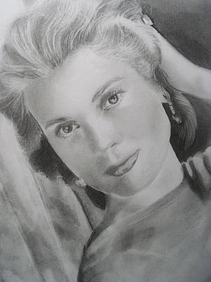 Grace Kelly Drawing - Grace Kelly 2 by Emily Maynard
