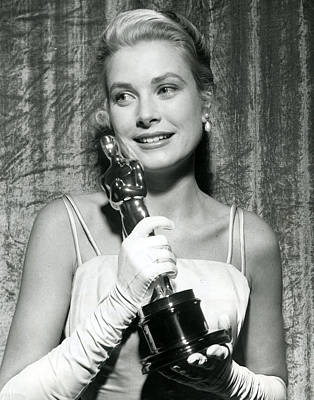 Movie Star Photograph - Grace Kelly At Awards Show by Retro Images Archive