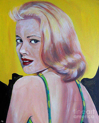 Grace Kelly Painting - Hello Grace by Klaus Grumbach
