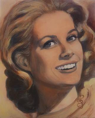 Grace Kelly Painting - Grace Kelly by Shirl Theis