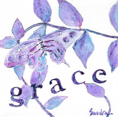 Painting - Grace by Sandra Neumann Wilderman
