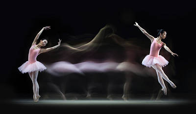 Graceful Photograph - Graceful Balerina by Antonyus Bunjamin (abe)