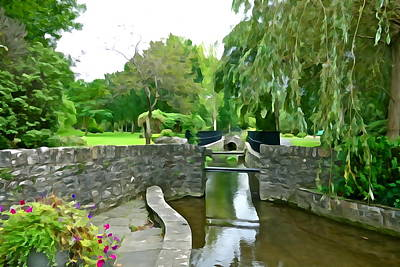 State Love Nancy Ingersoll - Graceful Garden by Charlie and Norma Brock
