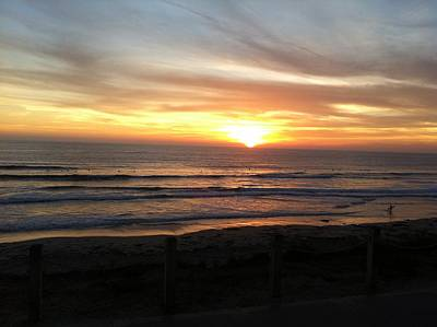 Photograph - Graceful San Diego Sunset by Angela Bushman