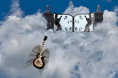 Guitar Angels Photograph - Graceland by Bill Cannon