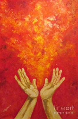 Painting - Gracias by Judy Morris