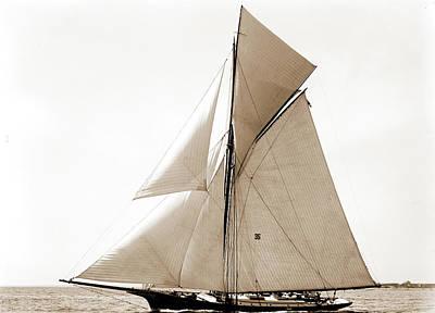 Gracie, Goelet Cup Race, Gracie Yacht, Goelet Cup Race Art Print by Litz Collection