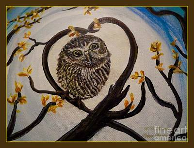 The Nature Center Painting - Graciela Finds Her Heart Song I  by Kimberlee Baxter