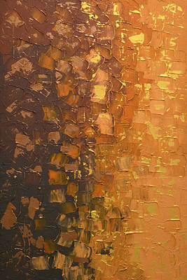 Popstar And Musician Paintings Royalty Free Images - Gradient Metal Royalty-Free Image by Linda Bailey