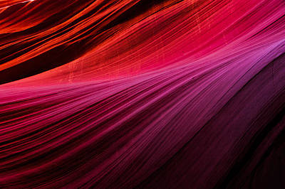 Photograph - Gradient Walls - Antelope Canyon by Gregory Ballos