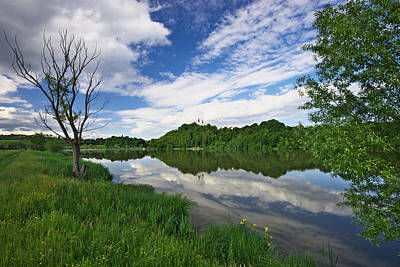 Wood Photograph - Gradisko Lake by Ivan Slosar