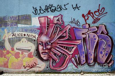 Message Art Photograph - Grafffiti Recife Brazil 9 by Bob Christopher