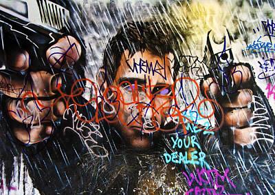 Graffiti 03 Art Print by Svetlana Sewell