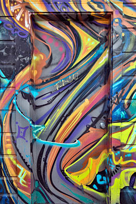 California Mission Wall Art - Photograph - Graffiti 1 by Leland D Howard