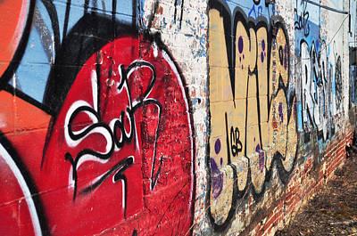 Photograph - Graffiti 1 by Staci Bigelow