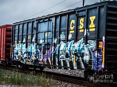 Photograph - Graffiti 2 by Ronald Grogan