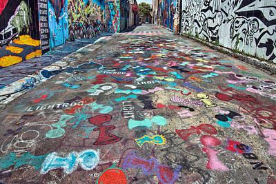 California Mission Wall Art - Photograph - Graffiti 3 by Leland D Howard