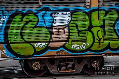 Photograph - Graffiti 4 by Ronald Grogan
