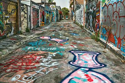 California Mission Wall Art - Photograph - Graffiti 5 by Leland D Howard