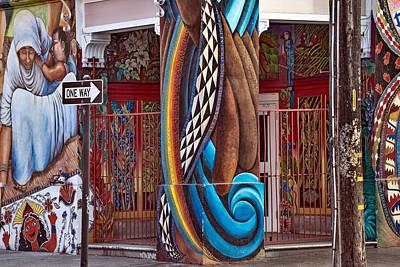 California Mission Wall Art - Photograph - Graffiti 6 by Leland D Howard